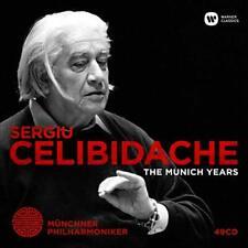 CELIBIDACHE,SERGIU-MUNICH YEARS CD NEW