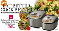 Zojirushi 5.5/10 Cup Induction Heating System Rice Cooker &Warmer NP-HCC
