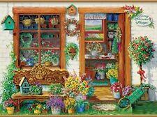 Jigsaw Puzzle Building Fancy Flower Shoppe 750 pieces NEW
