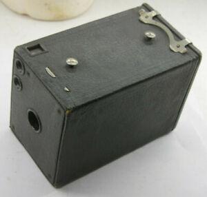 Kodak 2 Brownie Model D Film Wood Box Camera Working Shutter Lens - VINTAGE J19A