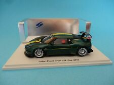 LOTUS EVORA - TYPE 124 -  CUP 2010 - 1/43 NEW SPARK S2206