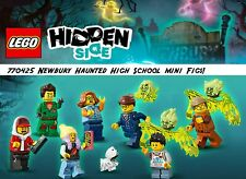 LEGO The Hidden Side Newbury Haunted High School 70425 Mini Figs!