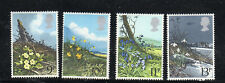 GREAT BRITAIN #855-858  1979  BRITISH WILD FLOWERS    MINT  VF NH  O.G