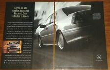 MERCEDES BENZ C36 AMG MAGAZINE ADVERTISEMENT W202 FORMULA ONE VEHICLES IN TRADE