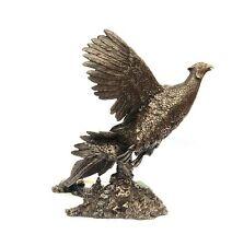 Pheasant Breaking Cover large Resin Bronze Sculpture Shooting Gift