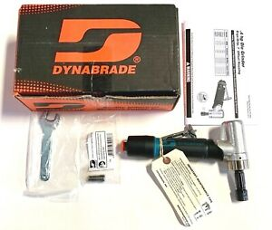 """DYNABRADE 7 Degree Offset 1/4"""" Die Grinder Planetary Geared Model 47212"""