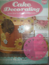 Deagostini Cake Decorating Magazine ISSUE 139 WITH CLOCK STENCIL