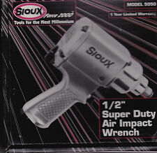 SIOUX AIR OPERATED 1/2 INCH DRIVE AIR IMPACT WRENCH SUPER DUTY MADE IN JAPAN NEW