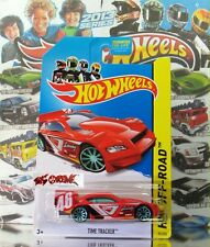 Hot Wheels 2013 #95 Time Tracker™ RED,2ndCOLOR,NEW CASTING,BLUE10SP,2014 US CARD