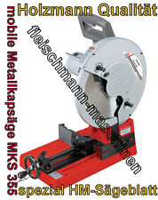 Holzmann mobile Metalltrennsäge MKS355 230V Metallkreissäge