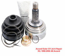 Honda Acura CV Outer Joint Repair Kit, 1 Joint, 1 Nut, 1 Boot, 2 Clamps 1 Grease