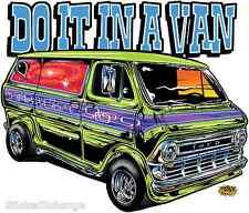 Mini Size Do It In A Van STICKER Decal Artist Dirty Donny DD32B