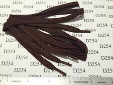 """3 PAIRS US WW2 date SERVICE SHOE 40"""" inch Brown Laces strings Type 1 2 3 shoes"""