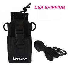 Two Way Radio Pouch Case Holster MSC-20C FOR Motorola GP328 PLUS Baofeng 888S