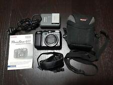 Canon PowerShot G11 10.0MP Digitalkamera - Schwarz