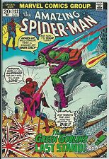 **THE AMAZING SPIDER-MAN #122**(JUL, 1973, MARVEL)**DEATH OF GREEN GOBLIN**FN/VF