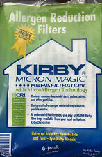 Genuine Kirby Bags Hepa Micronmagic  Filters Vacuum Cleaner  6/Pack