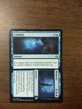 MTG Magic the Gathering Commit Memory Rare - NM