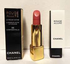 Chanel Rouge Allure Luminous Satin Lip Colour Lipstick 66 Confidentielle 0.12 oz
