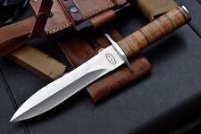 CFK AMAZON Custom Handmade D2 US ARMY RANGER Military Combat Dagger Knife CFK131