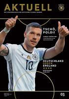 Länderspiel 22.03.2017 Deutschland - England, Abschiedsspiel Lukas Podolski