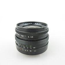 M42 Pentacon 3.5/30 wide angle Objektiv / lens