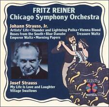 Strauss Waltzes - Fritz Reiner & The Chicago Symphony Orchestra BRAHMS,JOHANNES