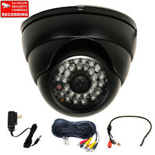 700 TVL Wide Angle Security Camera Outdoor IR LEDs Night w/ Audio Microphone 1V1