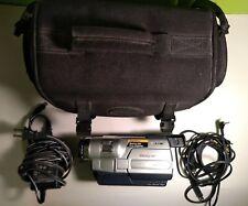 Sony CCD-TRV118 Nightshot Hi8 Tape Camcorder Vision 560x Digital Zoom