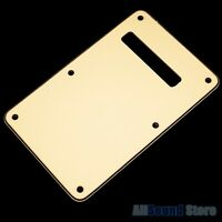 Vintage CREAM 3-Ply Back Plate Tremolo Cover for Fender Stratocaster Strat - NEW