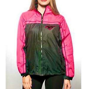 FORD MUSTANG LADIES BLACK AND FUSCHIA JACKET/WINDBREAKER SOLD EXCLUSIVELY HERE