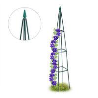 Rankhilfe Rankpyramide hoch Rankgerüst Rankturm Blumengitter Rosenhilfe Garten