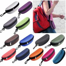 Sunglasses Eye Glasses Carry Case Bag Hard Zipper Box Protector Portable Unisex