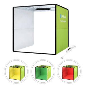 Mobiles Fotostudio Fotobox Tragbares LED Ministudio Lichtbox Fotozelt 30x30x30cm