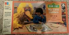 Sesame Street My First Games Stop & Go