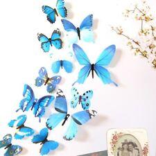 3D Mariposa Mural de Arte para Decoración de PVC Mariposas Pegatinas De Pared 12 un.