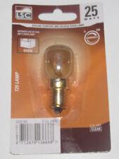 Ampoule pour Four Lamp 25 Watt T25 E14 240V Clear