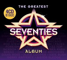 THE GREATEST SEVENTIES (70's) ALBUM 4 CD - VARIOUS ARTISTS (Released 22/6/2018)