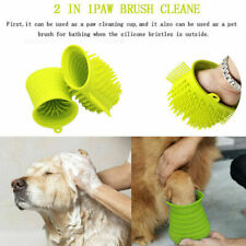 Portable Pet Foot Washer Soft Silicone Combs Dog Paw Cleaner Cup Paw Clean Brush