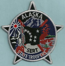 ALASKA STATE TROOPER POLICE SERT TACTICAL SHOULDER PATCH