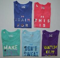Girl's Youth Under Armour Heat Gear FITTED Tank Top