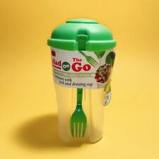 BPA Free 3 Piece Salad-To-Go Container Set