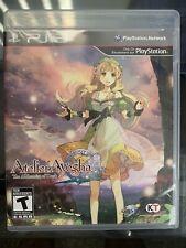 Atelier Ayesha: The Alchemist of Dusk (PlayStation 3, PS3 2013) CIB Clean