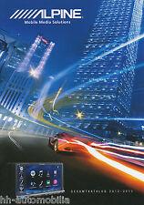 Prospekt Katalog Alpine Car Audio Navigation Gesamtkatalog 2012/2013 Verstärker