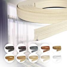 Blende für Gardinenschiene Vorhangschiene Schiene 50 mm Breite 10 Farben NEU