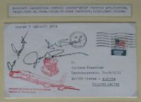 s1471) Raumfahrt Recovery Skylab 3 cover CC Sep 25, 1973 OU Garriott Bean Lousma