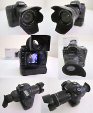 DSLR Canon 7D 18.0MP Camera, 2 Lenses, Battery grip, filters, CF cards, HD VIDEO