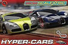 Micro Scalextric 1 64 Scale HYPER Cars Race Set