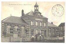 CPA 78 - LES BREVIAIRES - Mairie et Ecole - Animée