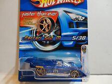 2006 Hot Wheels #5 Blue Ferrari 512 M w/FTE Wheels